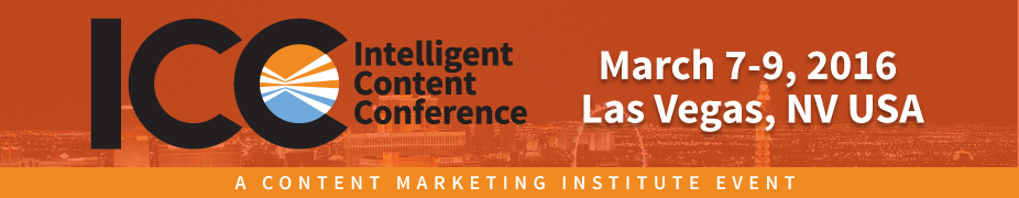 Intelligent Content Conference 2016 Greg Verdino